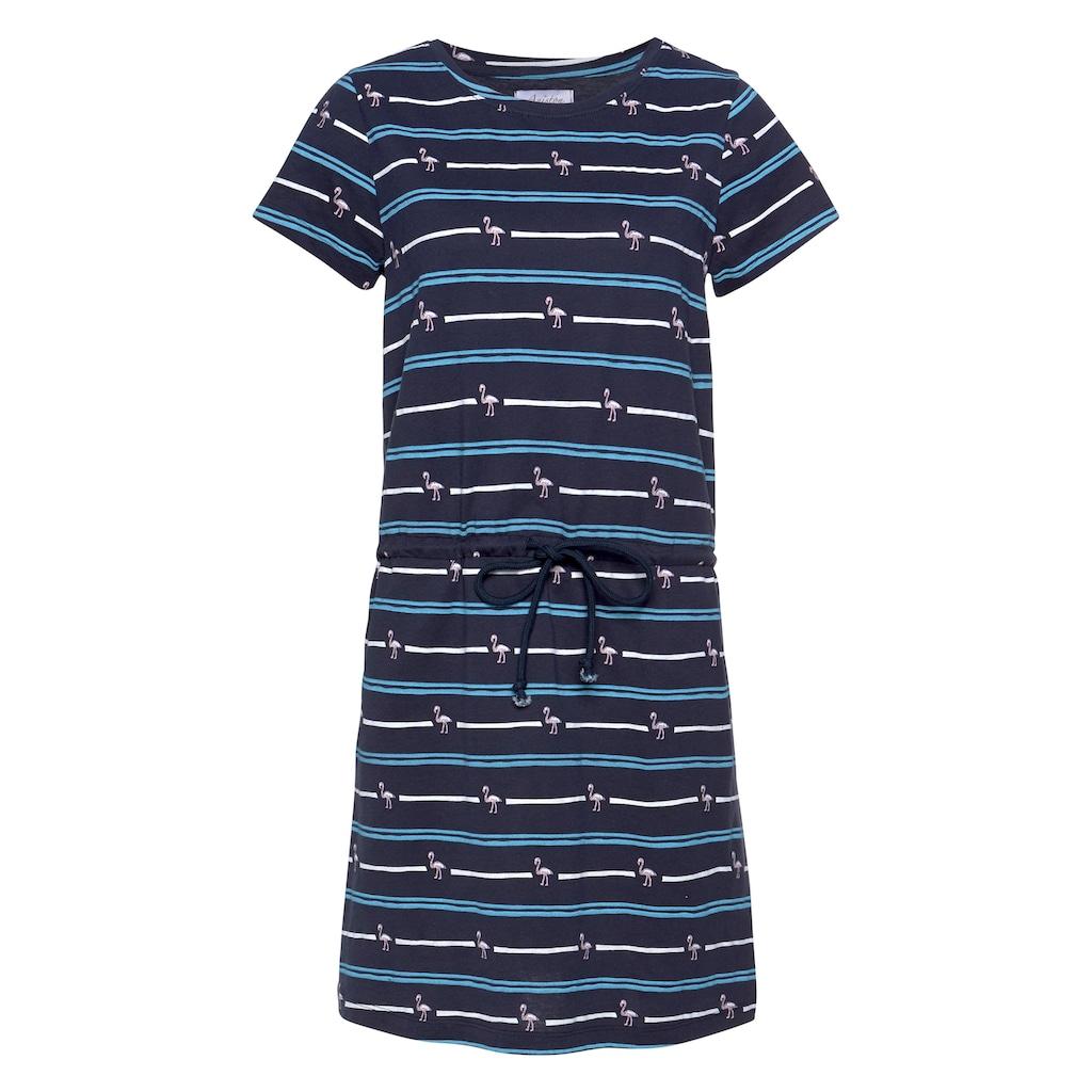 Aniston CASUAL Jerseykleid, mit Tunnelzug in der Taille