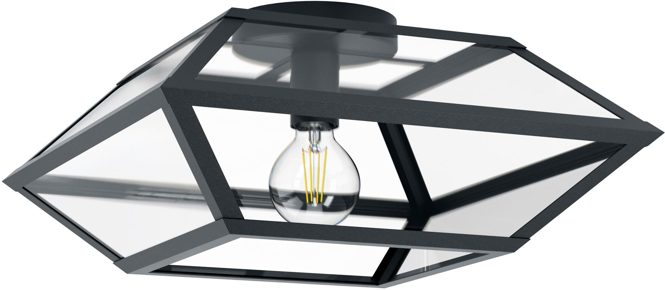 EGLO Deckenleuchte CASEFABRE, E27, Deckenlampe
