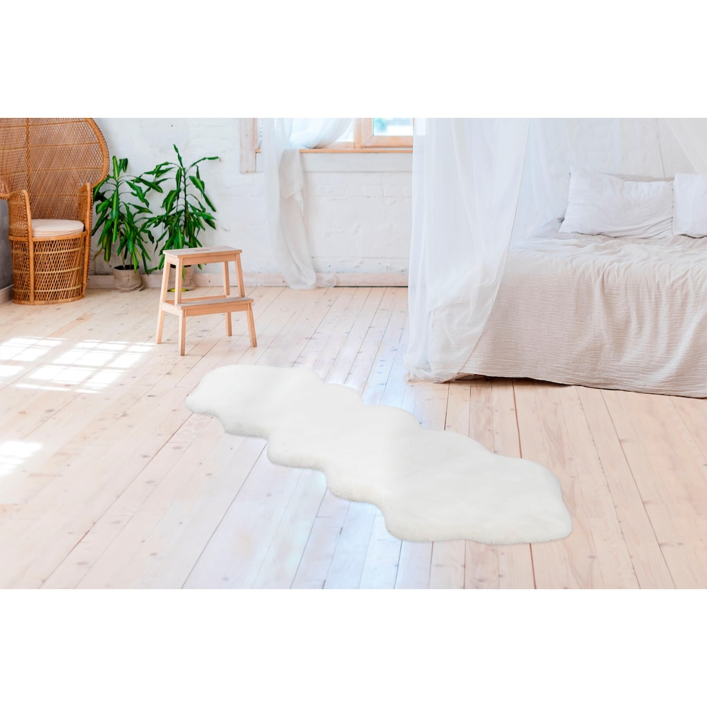 Arte Espina Fellteppich »Rabbit 300«, wolkenförmig, 35 mm Höhe, Kunstfell, Wohnzimmer