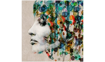 Art & Pleasure Metallbild »Aquarell face«, Abstrakt kaufen