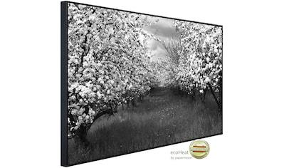 Papermoon Infrarotheizung »Baumplantage Schwarz & Weiß«, sehr angenehme Strahlungswärme kaufen