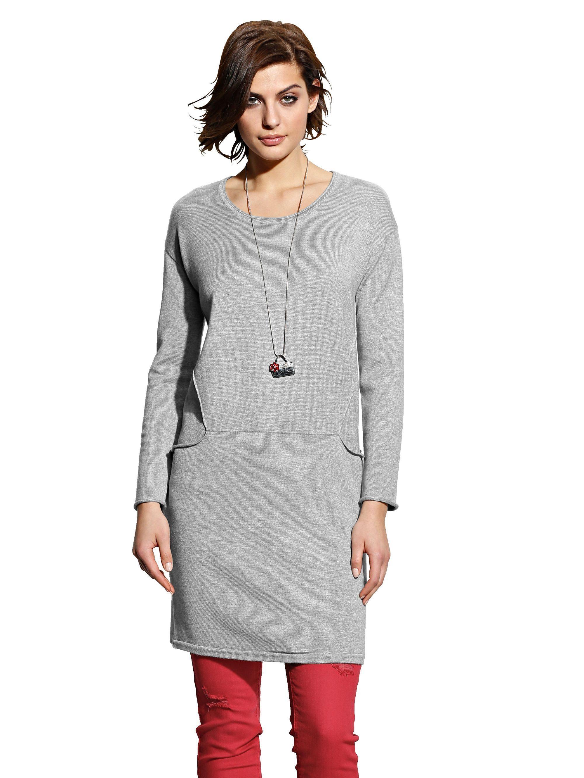 Alba Moda Kleid aus Feinstrick