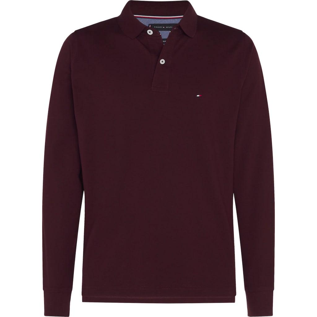 TOMMY HILFIGER Langarm-Poloshirt »TOMMY REGULAR POLO LS«