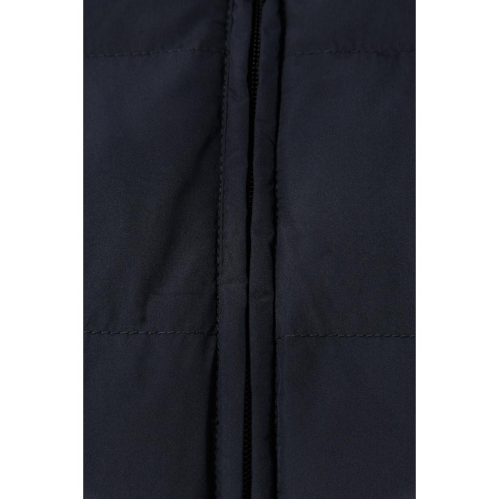 Finn Flare Steppmantel, mit langem Schnitt