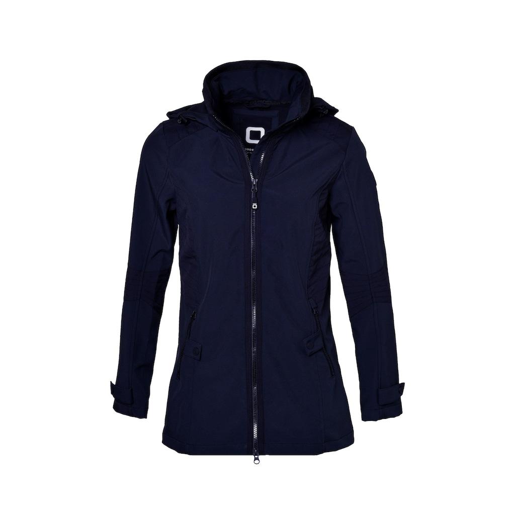 CODE-ZERO Softshelljacke »Jammer Softshell Jacke Women«, Applikationen