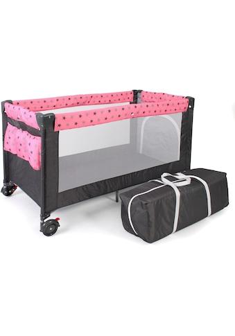CHIC4BABY Baby - Reisebett, »Luxus, Sternchen grau« kaufen