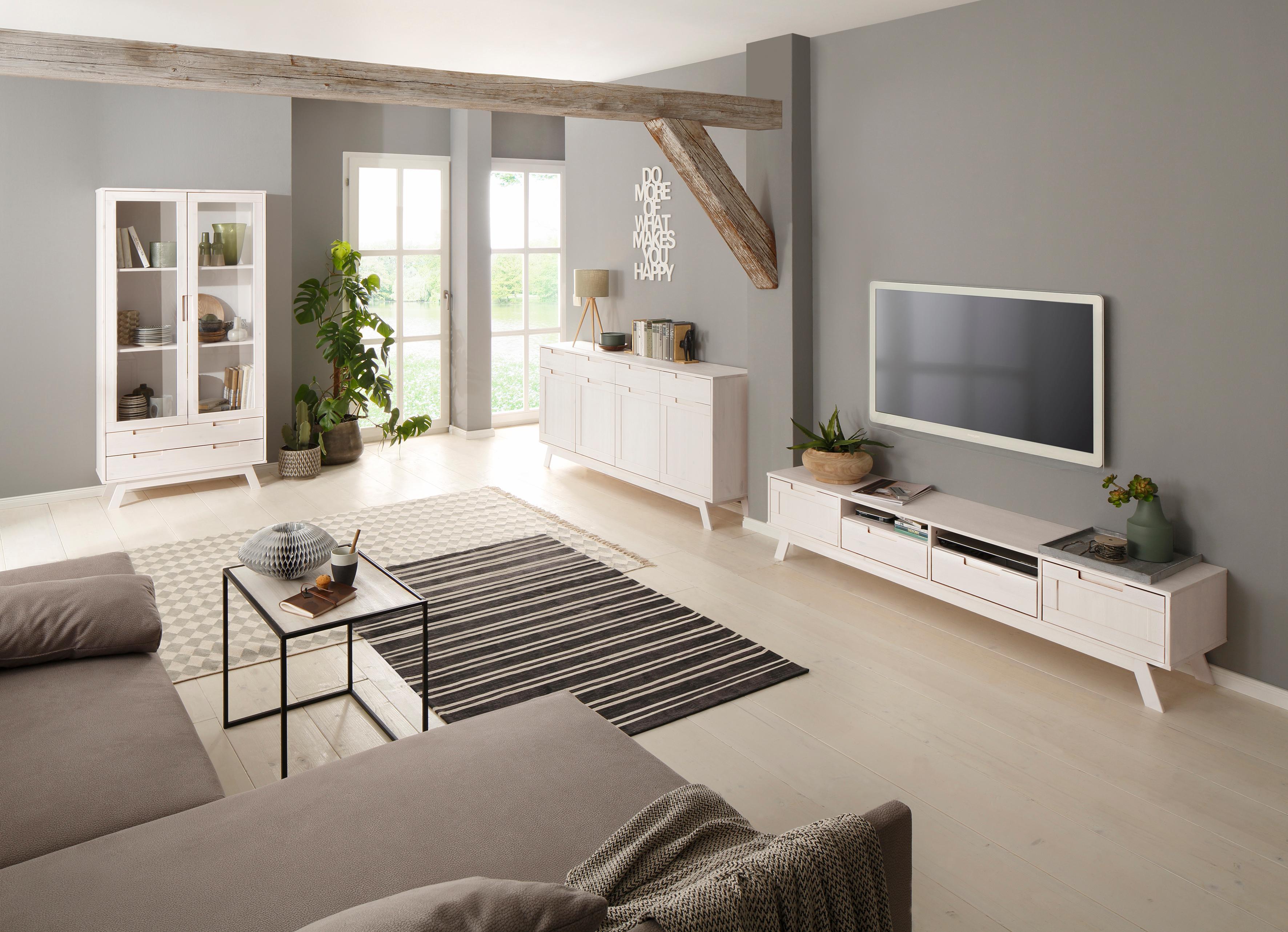 Home affaire Sideboard Ohio im traditionellem Design und vielen Stauraummöglichkeiten Breite 169 cm