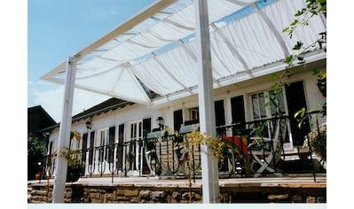 FLORACORD Sonnensegel »Bausatz Universal«, BxL: 330x140 cm, weiß kaufen