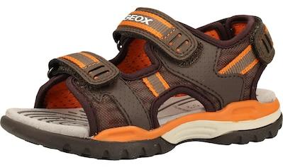 Geox Sandale »Lederimitat/Mesh« kaufen