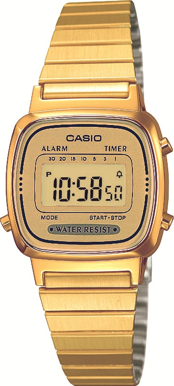 CASIO VINTAGE Chronograph LA670WEGA-9EF