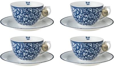 LAURA ASHLEY BLUEPRINT COLLECTABLES Cappuccinotasse »Sweet Allysum«, (Set, 8 tlg., 4... kaufen