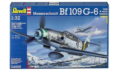 Revell® Modellbausatz »Messerschmitt Bf109 G-6«, 1:32, Made in Europe kaufen