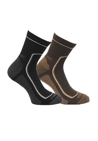 Regatta Wandersocken Great Outdoors Herren Wander - Socken, gepolstert, 2er - Pack kaufen