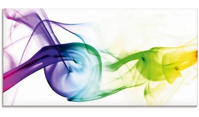 Artland Glasbild »Rauch - Abstrakt«, Gegenstandslos, (1 St.) kaufen