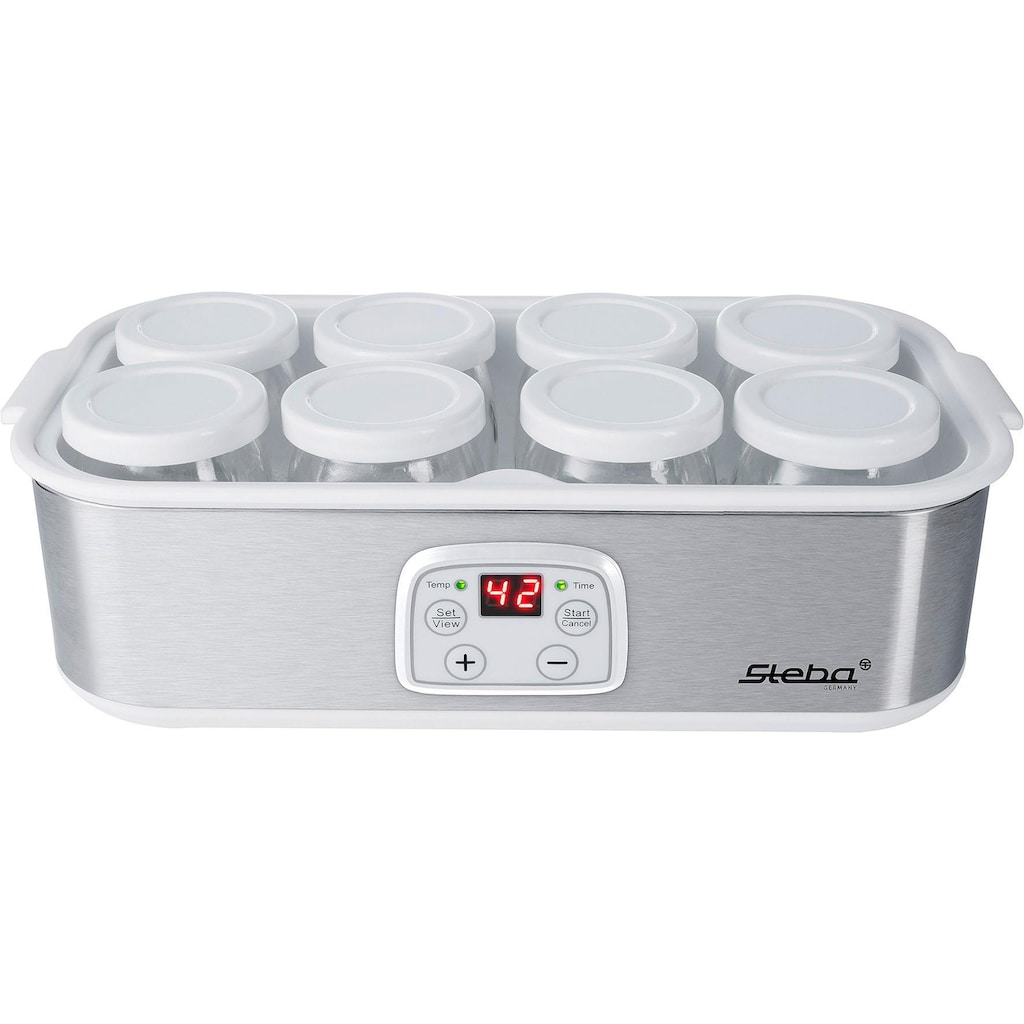 Steba Joghurtbereiter JM 3, 8 Portionsbehälter je 180 ml