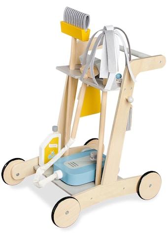 Pinolino® Kinder-Putzwagen »Pia«, (7 tlg.), aus Holz kaufen