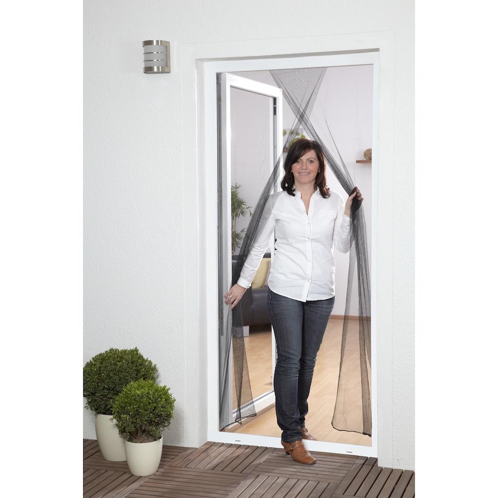 hecht international Insektenschutz-Tür, schwarz, BxH: 60/60x210 cm