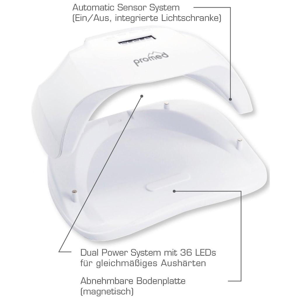 promed Lichthärtungsgerät »UVL-54, »All-In««, zum Härten von UV+LED Gel und Acryl