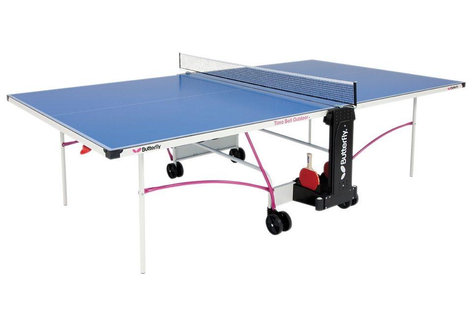 Butterfly Tischtennisplatte OUTDOOR TABLE TIMO BOLL Technik & Freizeit/Sport & Freizeit/Sportarten/Tischtennis/Tischtennis-Ausrüstung