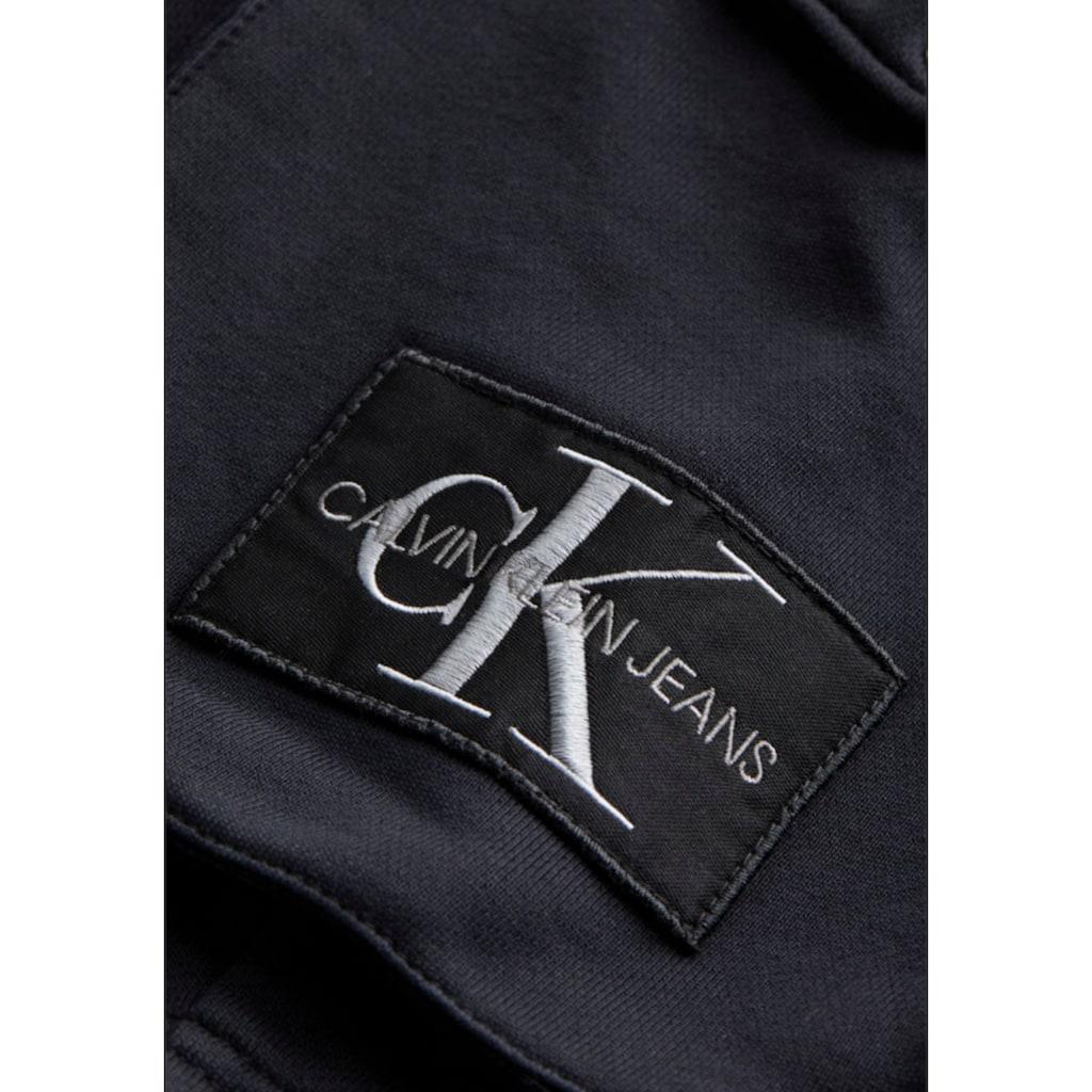 Calvin Klein Jeans Sweatshorts »MONOGRAM PATCH HWK SHORT«