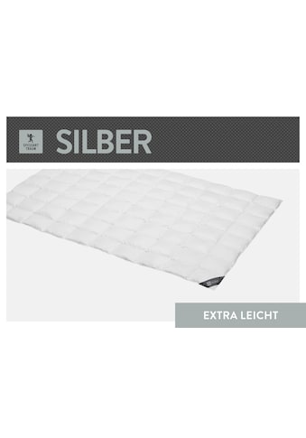 SPESSARTTRAUM Daunenbettdecke »Silber«, extraleicht, Füllung 100% Daunen, Bezug 100% Baumwolle, (1 St.), hergestellt in Deutschland, allergikerfreundlich kaufen