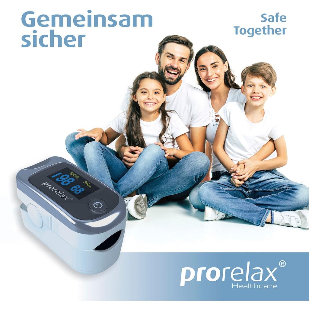prorelax Pulsoximeter »12021«, zur Selbst-Kontrolle der Herz-Frequenz