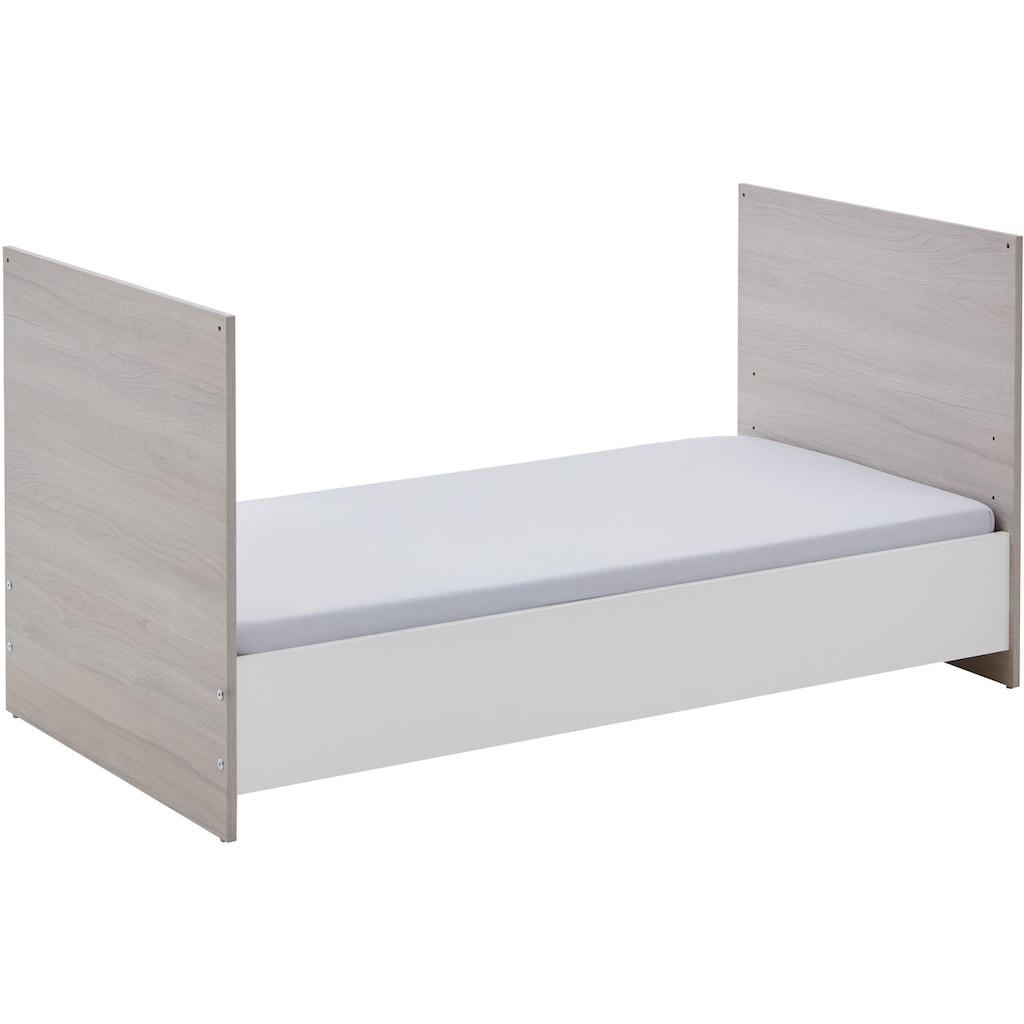 arthur berndt Babyzimmer-Komplettset »Jonas«, (Set, 4 St.), Made in Germany; mit Kinderbett, Regal, Schrank und Wickelkommode