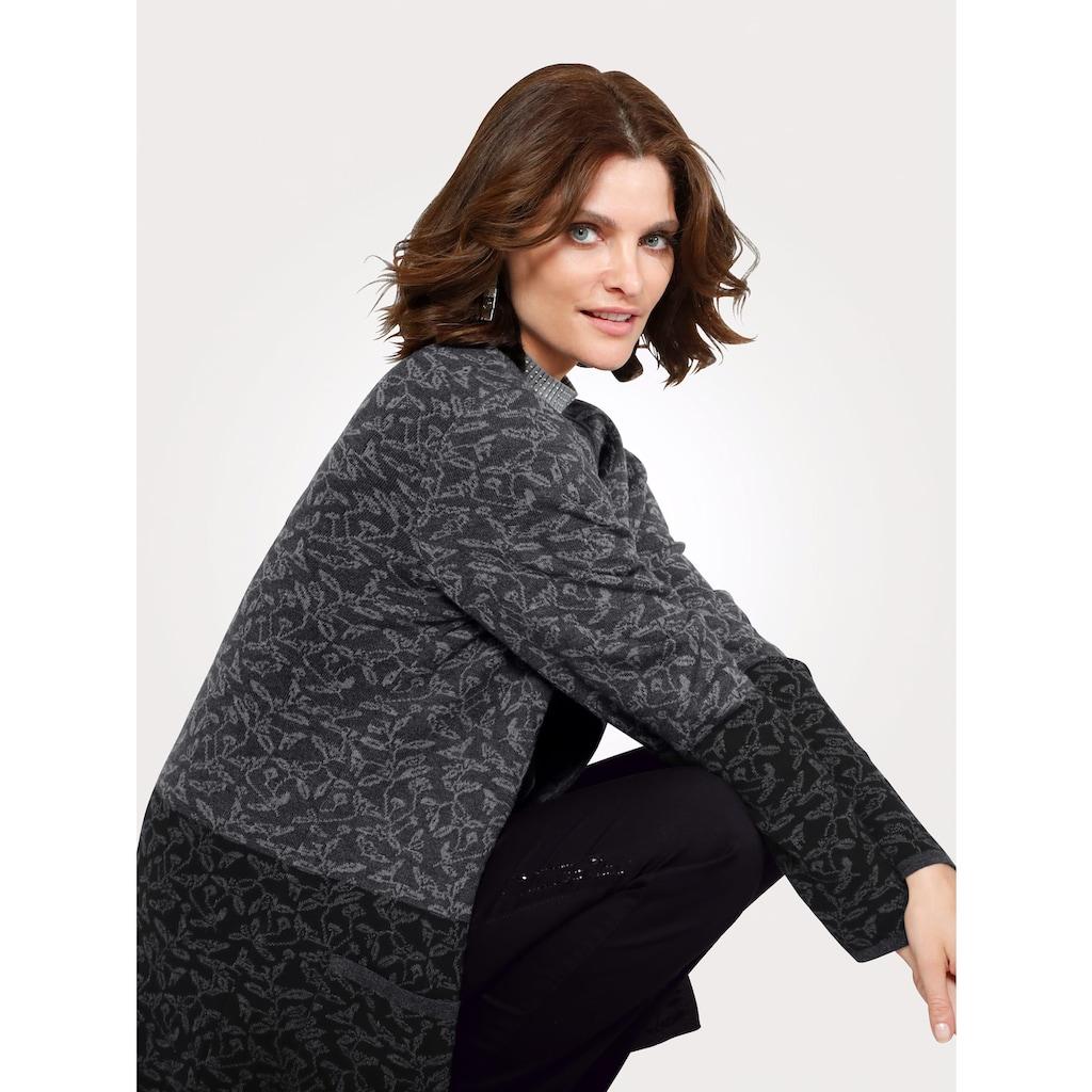 Mona Strickjacke aus reiner Baumwolle