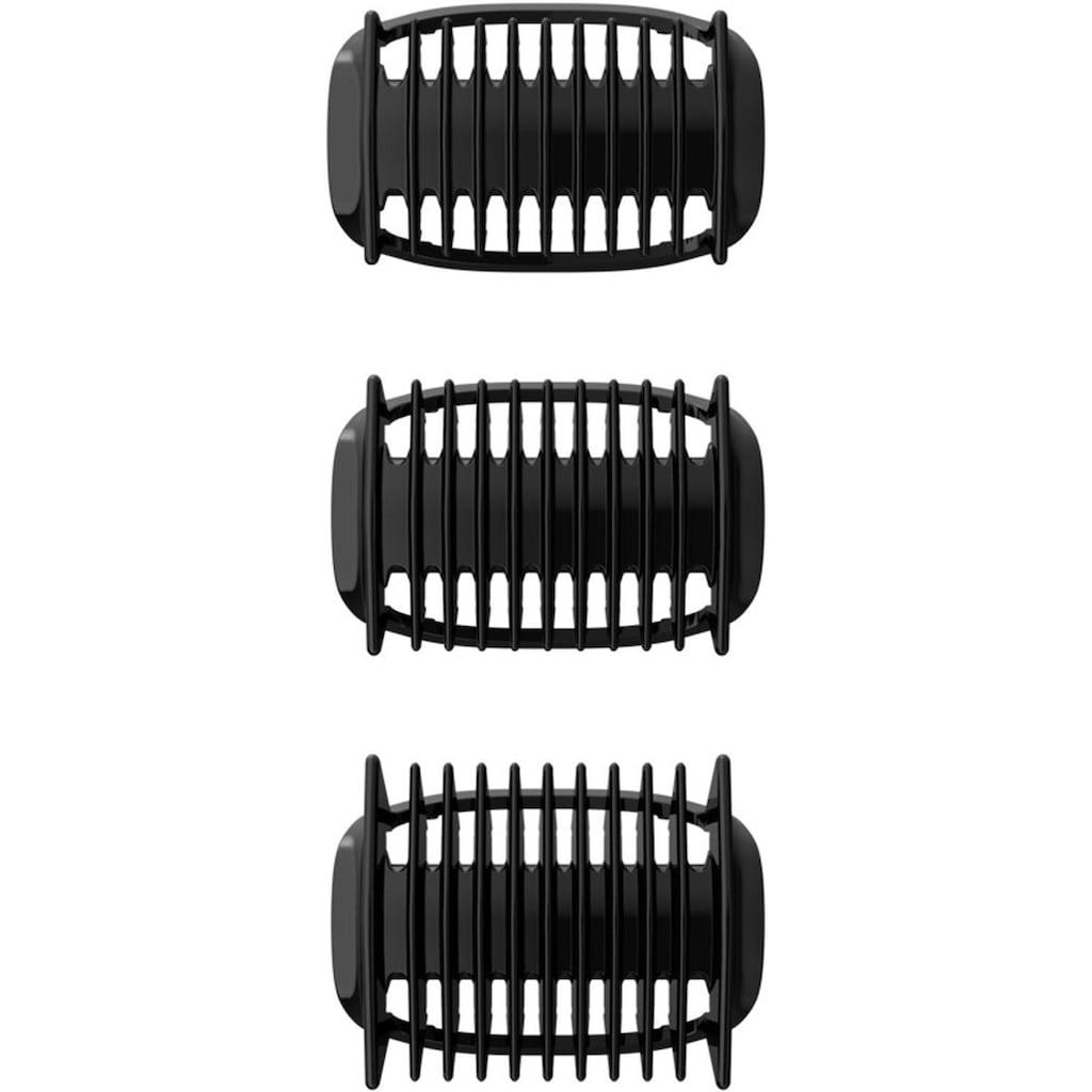 Philips Elektrokörperrasierer »Series 3000 BG3015/15«, 3 St. Aufsätze, Langhaartrimmer, Bodygroom