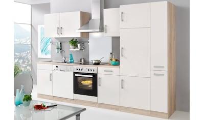 HELD MÖBEL Küchenzeile »Toronto«, mit E-Geräten, Breite 310 cm kaufen