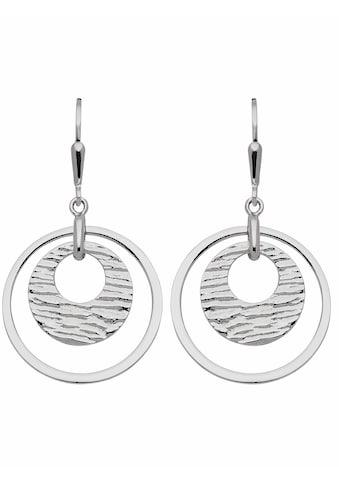 Adelia´s Paar Ohrhänger »925 Silber Ohrringe / Ohrhänger Ø 23,2 mm«, Silberschmuck für... kaufen