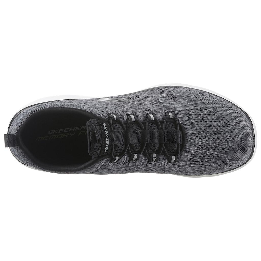 Skechers Slip-On Sneaker »SUMMITS«, mit Gummizug zum Schlupfen
