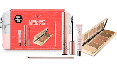 L.O.V Augen-Make-Up-Set »LOVE DAY«, (4 Beautyprodukte in einer Make-Up Bag) kaufen