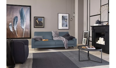 hülsta sofa 2,5-Sitzer »hs.450«, Fußgestell Chrom glänzend, Breite 184 cm wahlweise in Stoff oder Leder, mit schmaler Armlehne kaufen