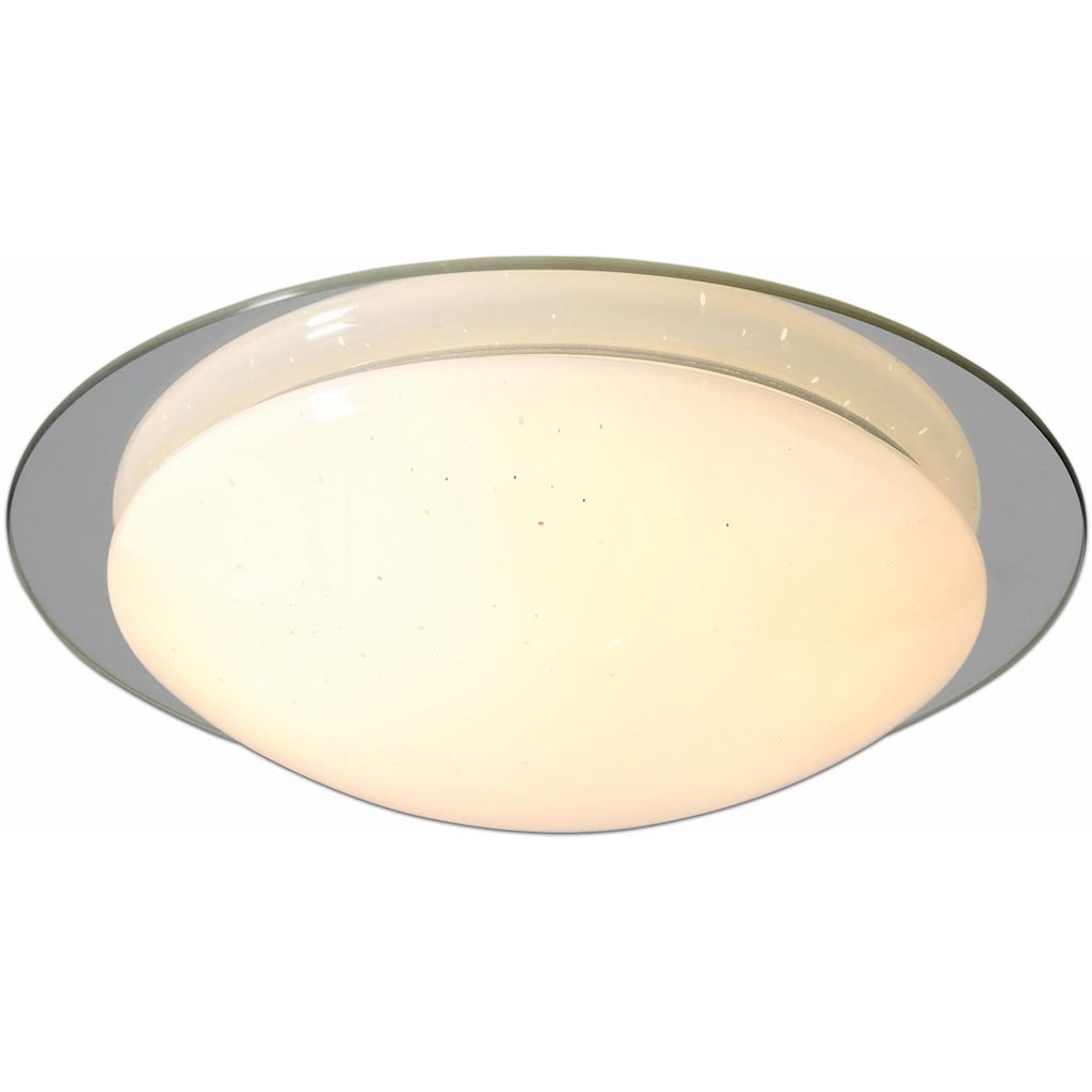 näve LED Deckenleuchte »PALMA«, LED-Board, Warmweiß, LED Deckenlampe