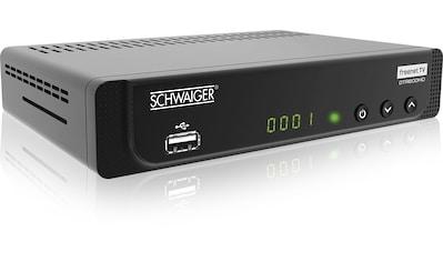 Schwaiger DVB-T2 HD Receiver mit Freenet TV, ÖR-Programme »Media Player, USB, EPG, HD-TV, AC3« kaufen