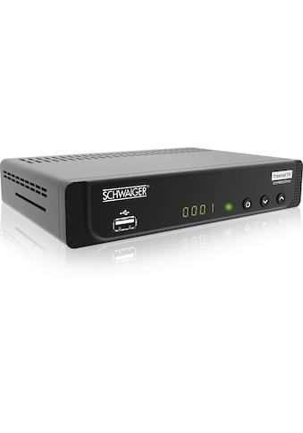 Schwaiger DVB - T2 HD Receiver mit Freenet TV, ÖR - Programme »Media Player, USB, EPG, HD - TV, AC3« kaufen