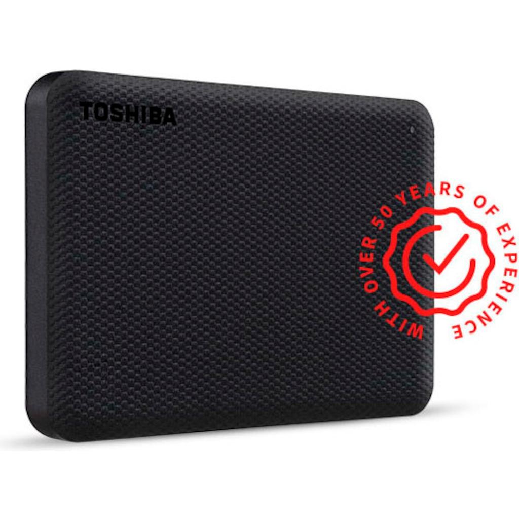 Toshiba externe HDD-Festplatte »Canvio Advance 2TB Black 2020«
