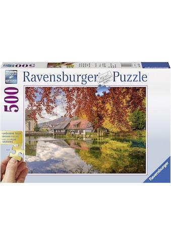 "Ravensburger Puzzle ""Mühle am Blautopf"" kaufen"