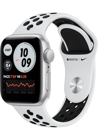 Apple Watch »Nike SE GPS, Aluminiumgehäuse mit Nike Sportarmband 40mm«, ( Watch OS 6... kaufen