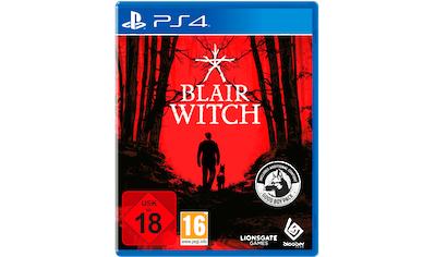 Deep Silver Spiel »Blair Witch«, PlayStation 4 kaufen