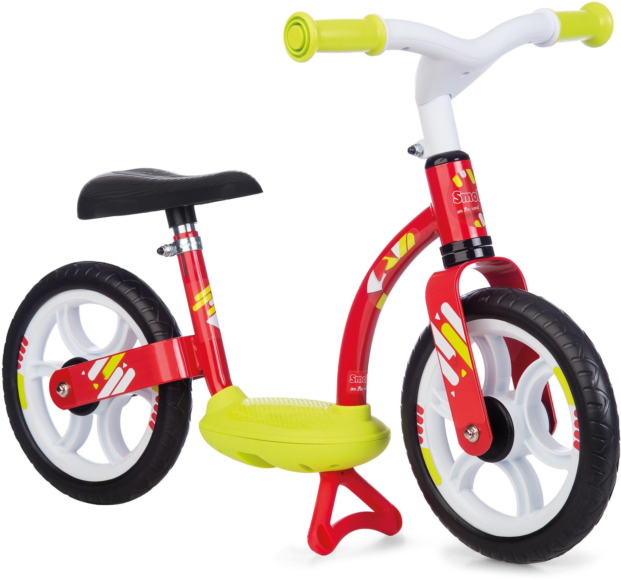 Smoby Laufrad Laufrad, rot, Made in Europe rot Kinder Laufräder Fahrräder Zubehör