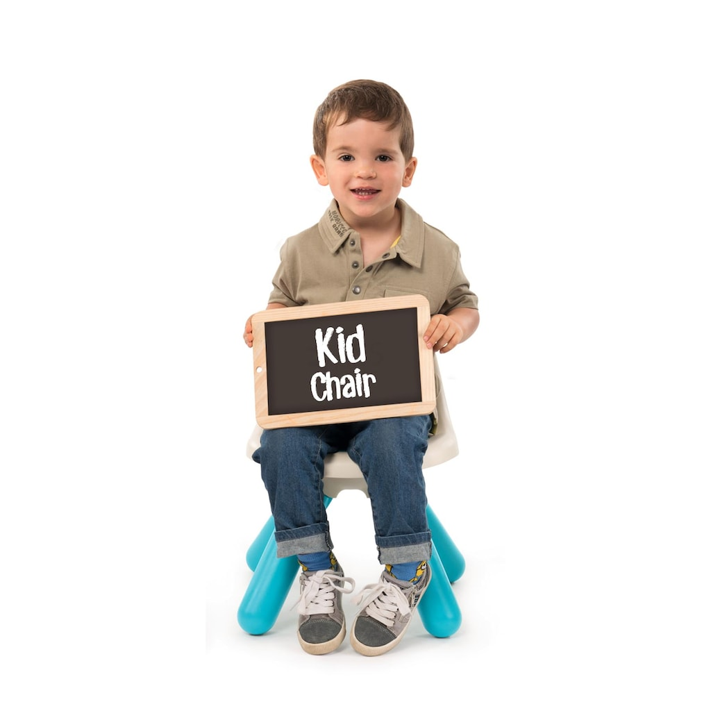 Smoby Stuhl »Kid, türkis«, für Kinder; Made in Europe