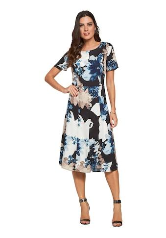 Lady Kleid mit hinreißendem Blumen - Druck kaufen