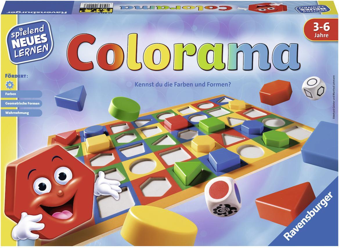 """Ravensburger Spiel """"Colorama"""" Technik & Freizeit/Spielzeug/Lernspielzeug/Lernspiele"""