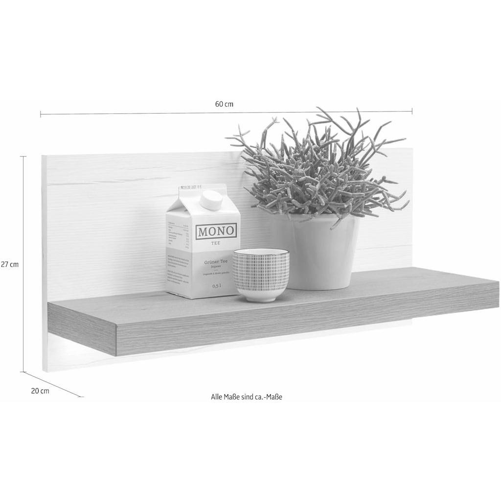 set one by Musterring Wandboard »york«, Typ 23, mit Boden, Breite 60 cm