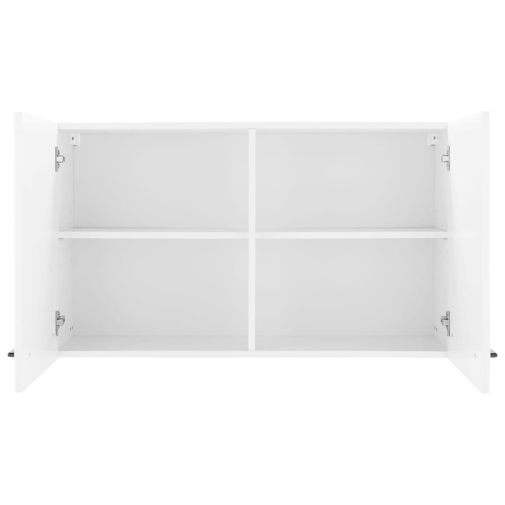 HELD MÖBEL Hängeschrank »Tulsa«, 100 cm breit, 57 cm hoch, 2 Türen, schwarzer Metallgriff, hochwertige MDF Front