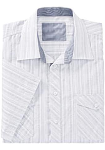 Marco Donati Kurzarm - Hemd in Seersucker - Qualität kaufen