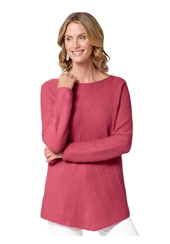 Ambria Pullover mit diagonal verlaufendem Ripp - Muster kaufen