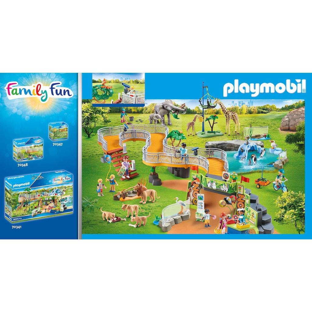 Playmobil® Konstruktions-Spielset »Löwen im Freigehege (70343), Family Fun«, ; Made in Germany